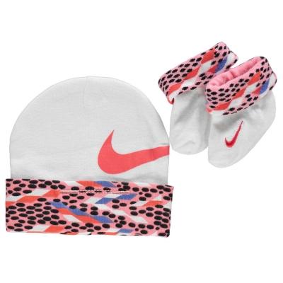 Caciula Set bebelusi Nike Bootie pentru fete