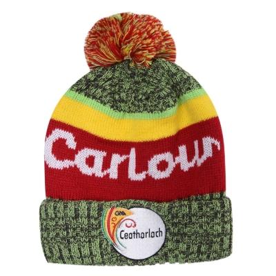 Caciula Official GAA Carlow pentru Barbati gri verde rosu