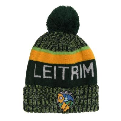 Caciula Official GAA Leitrim pentru Barbati gri verde auriu