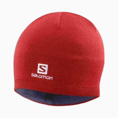 Caciula Ski Unisex SALOMON BEANIE  Rosu