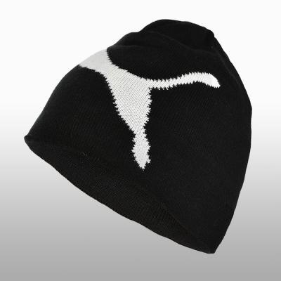 Caciula iarna neagra Puma Ess Big Cat Beanie Barbati