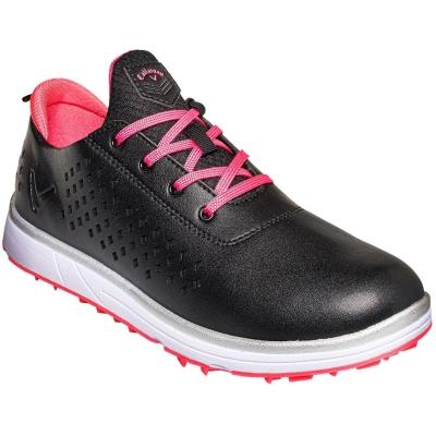 Pantofi de Golf Callaway Halo Diamond Spiked pentru femei negru roz