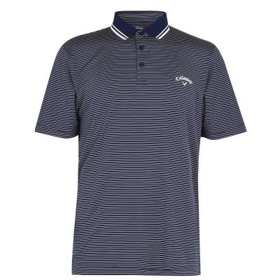 Tricouri Polo Callaway Micro cu dungi Golf pentru Barbati