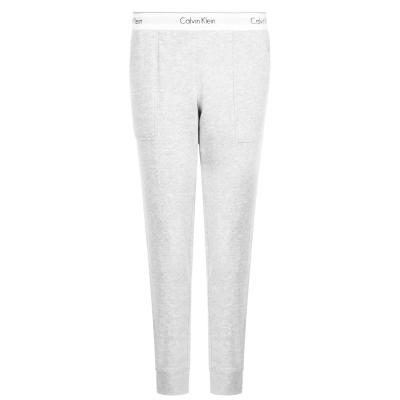 Calvin Klein bumbac Logo Jogger gri