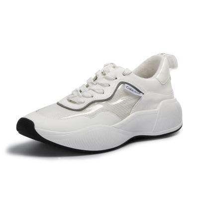 Adidasi sport Calvin Klein Beaulah Low alb