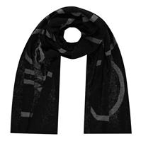 Calvin Klein CK cu imprimeu mare Sc Ld04 negru bax