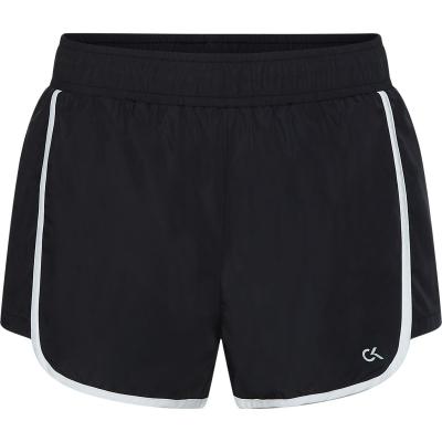 Pantaloni scurti Calvin Klein Performance Essential Liner negru alb