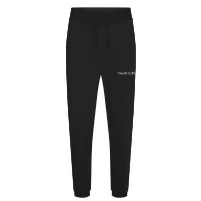 Pantaloni jogging Calvin Klein Performance Essential Logo negru