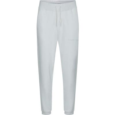 Pantaloni jogging Calvin Klein Performance Essential Logo nimbus gri