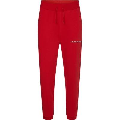 Pantaloni jogging Calvin Klein Performance Essential Logo rosu