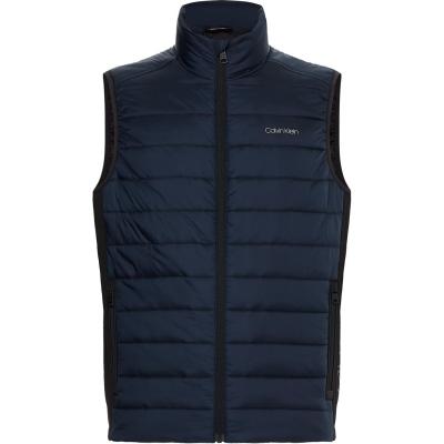Calvin Klein Side Logo Vest bleumarin