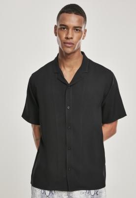 Camasa casual vascoza negru Urban Classics