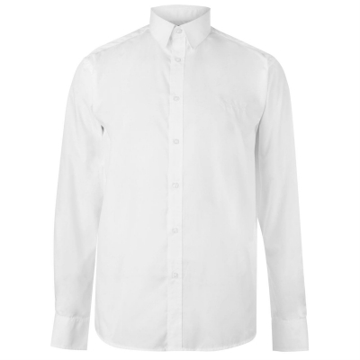 Camasa cu Maneca Lunga Pierre Cardin pentru Barbati plain alb