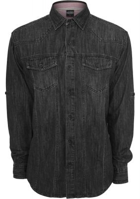 Camasi de blugi negru-inchis Urban Classics