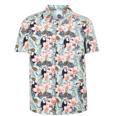 Hot Tuna cu maneca scurta All Over Printed Shirt pentru Barbati