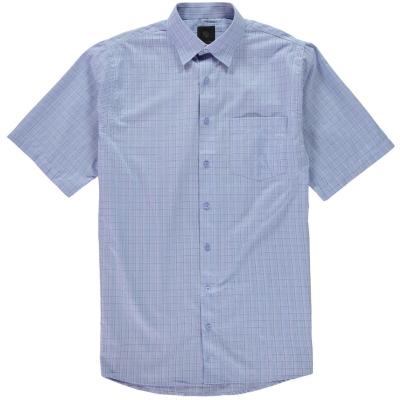 Camasa in carouri Fusion Textured pentru Barbati albastru