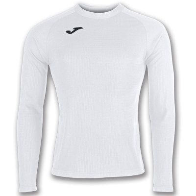 Joma Swearshirt alb cu maneca lunga