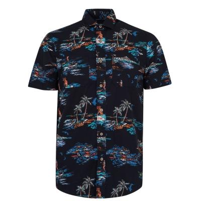 Camasa maneca scurta ONeill Tropical albastru