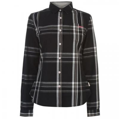 Camasi sport Lee Cooper cu Maneca Lunga pentru Femei negru gri