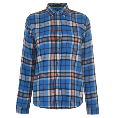 Camasi sport Pepe Jeans albastru