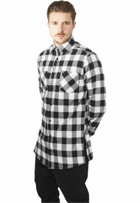 Camasi urban fermoar lateral negru-alb Urban Classics