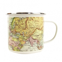 Cana Gift Republic Map Pale Enamel