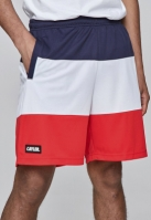 C&S WL Statement Meshshorts bleumarin-alb Cayler and Sons rosu