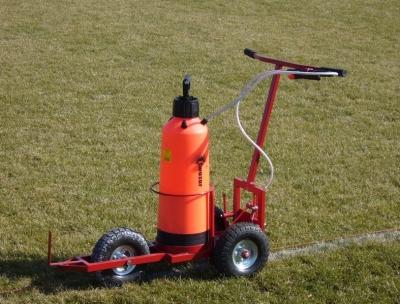 Masina marcat linii teren fotbal - emulsion