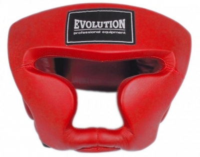 Casca BOXING antrenament EVOLUTION rosu OG-230