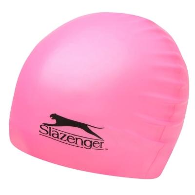 Casca inot silicon Slazenger Juniors roz