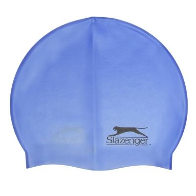 Casca inot silicon Slazenger Juniors albastru roial