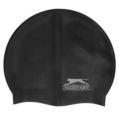 Casca inot silicon Slazenger Juniors negru
