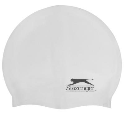 Casca inot silicon Slazenger pentru adulti alb