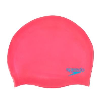 Casca inot silicon Speedo Juniors roz
