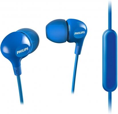 Casti Philips Handsfree albastru