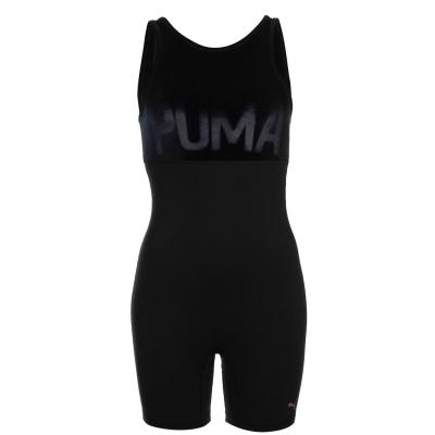 Puma catifea Unitard pentru Femei negru