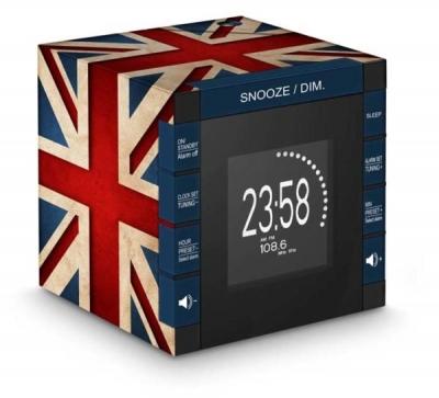 Ceas Cu Alarma Radio Si Proiectie Great Britain Bigben