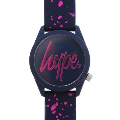 Ceas Hype Silicone Strap bleumarin roz