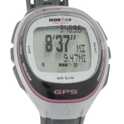 Ceas Timex Ironman HRM GPS argintiu