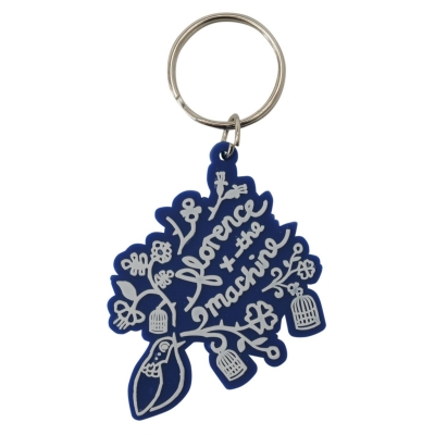 Character Rubber Keyring