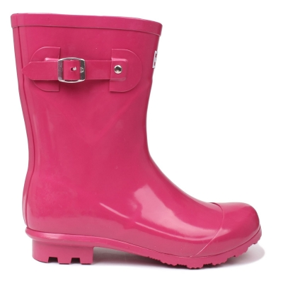 Cizme Kangol Low pentru Femei roz inchis