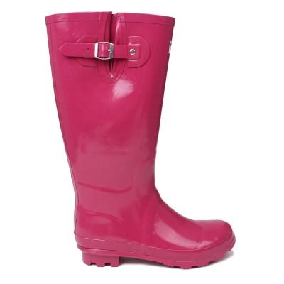 Cizme Kangol Tall roz inchis