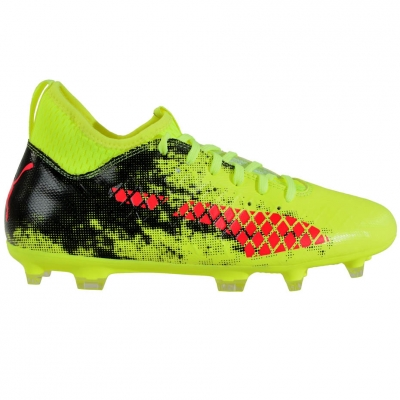Ghete de fotbal Puma Future 18.3 FG AG Fizzy 104328 01 barbati