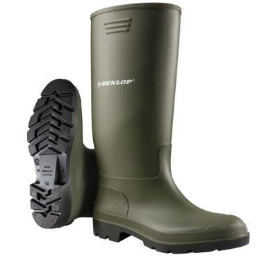 Cizme ploaie Dunlop Wellingtons pentru barbati verde