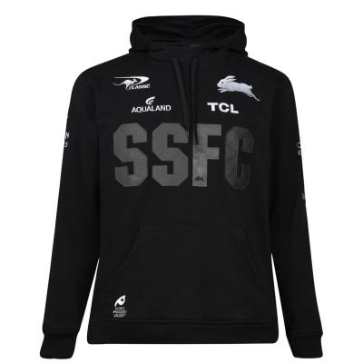 Hanorac clasic Sportswear Sportswear South Sydney Rabbitohs pentru Barbati negru