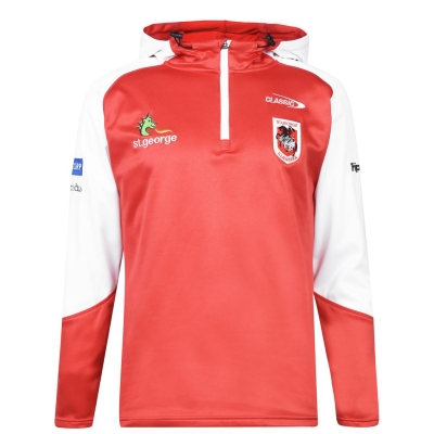 Hanorac clasic Sportswear Sportswear St George pentru Barbati alb rosu