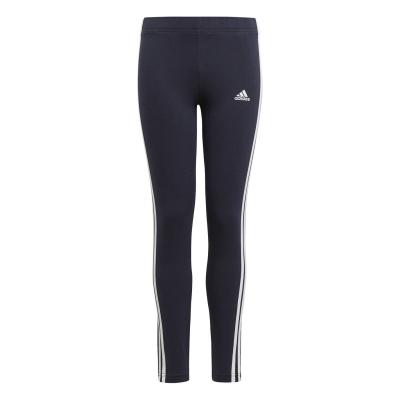 Colanti adidas adidas Essentials 3-Stripes pentru fete legend albastru