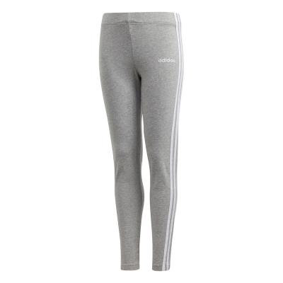 Colanti adidas adidas Essentials 3-Stripes pentru fete med gri