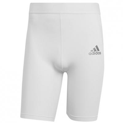 Colanti Adidas Techfit Short alb GU7315 pentru Barbati