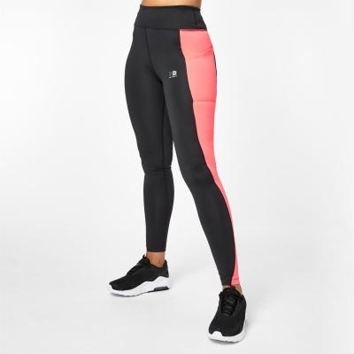 Colanti Karrimor alergare pentru Femei negru roz